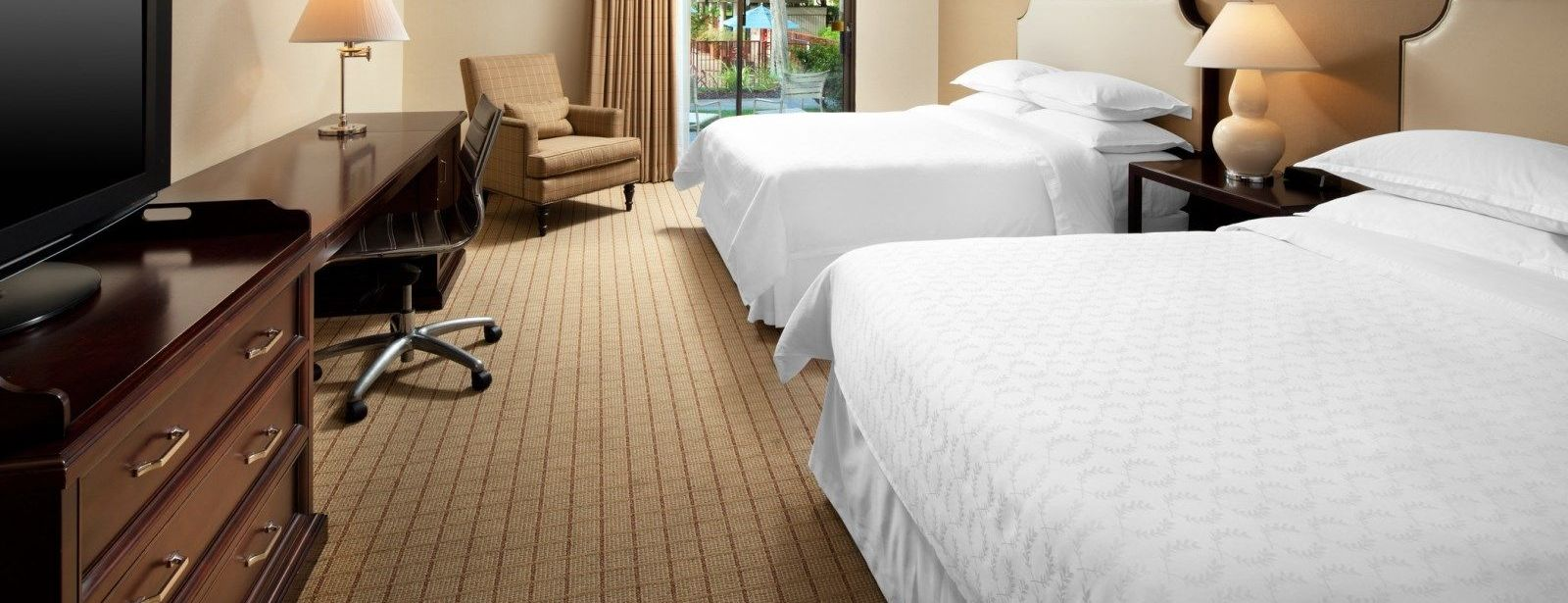 Traditional & Deluxe Rooms | Sheraton Sunnyvale Hotel